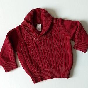 Gymboree Red Knit Sweater * Size 12-18M